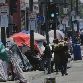 Homeless Skyrocketed by 35%